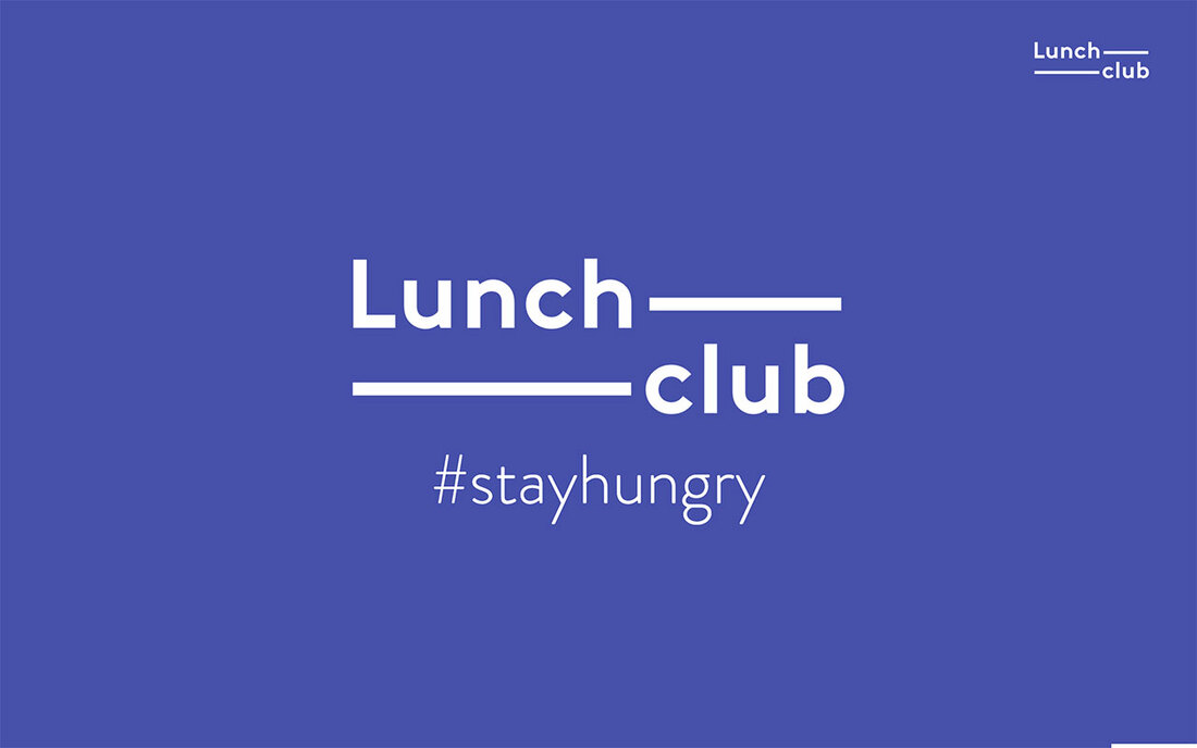Image contains the lunchclub logo