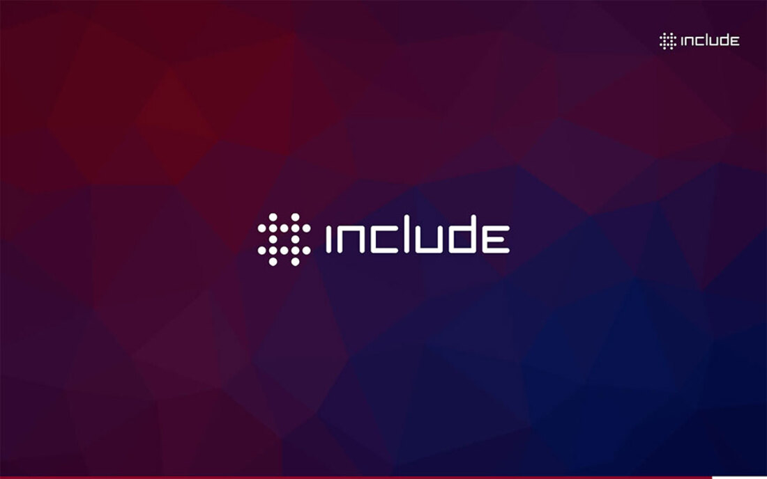 Image contains the include logo