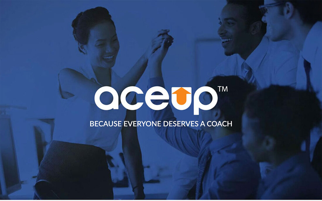 Image contains the aceup logo