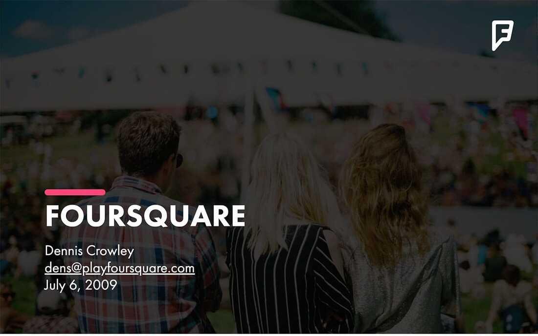 Image contains the foursquare logo