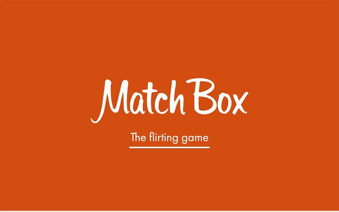 Image reads match box by tinder