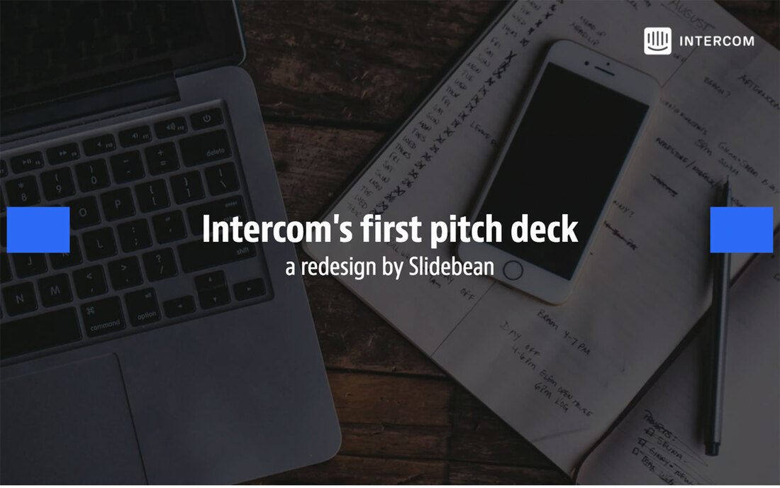 Image contains the intercom pitch deck