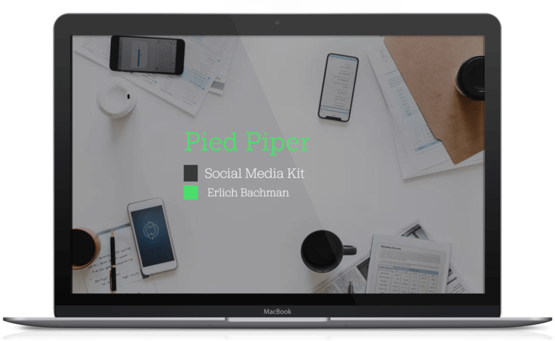 Image contains a social media kit template