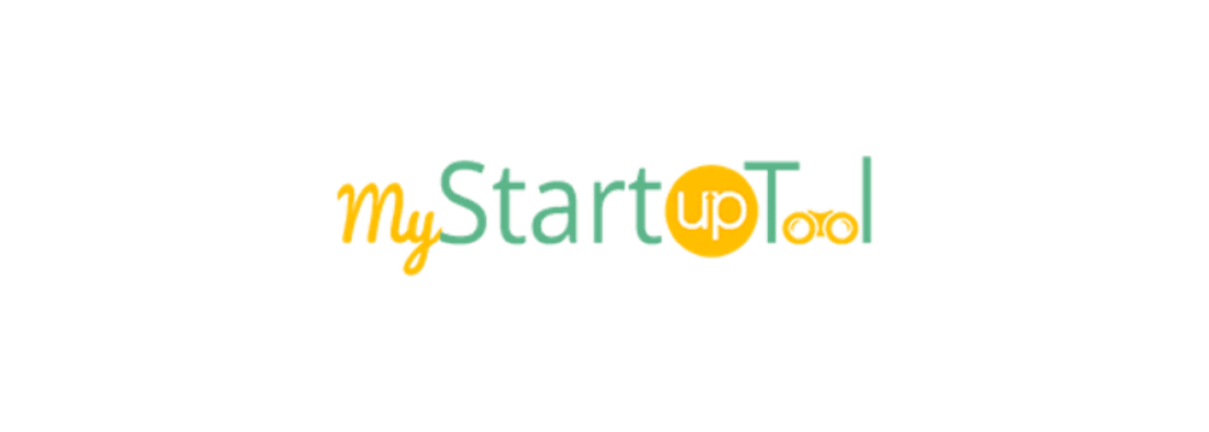 Image contains the my startup tool logo