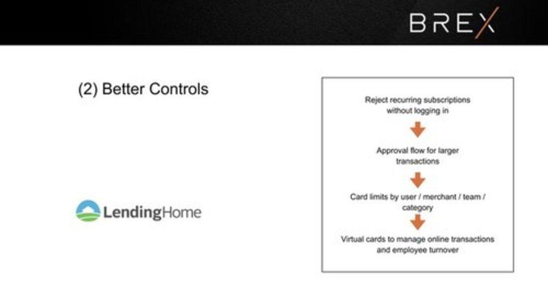 Image contains brex better controls slide