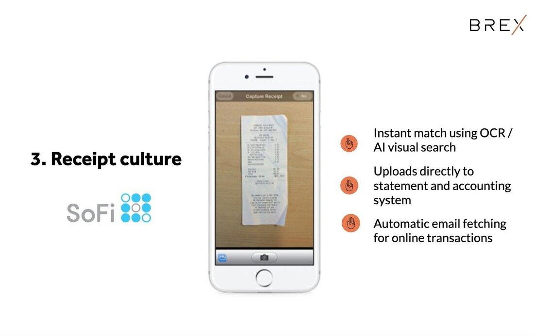 Image contains receipt culture slide