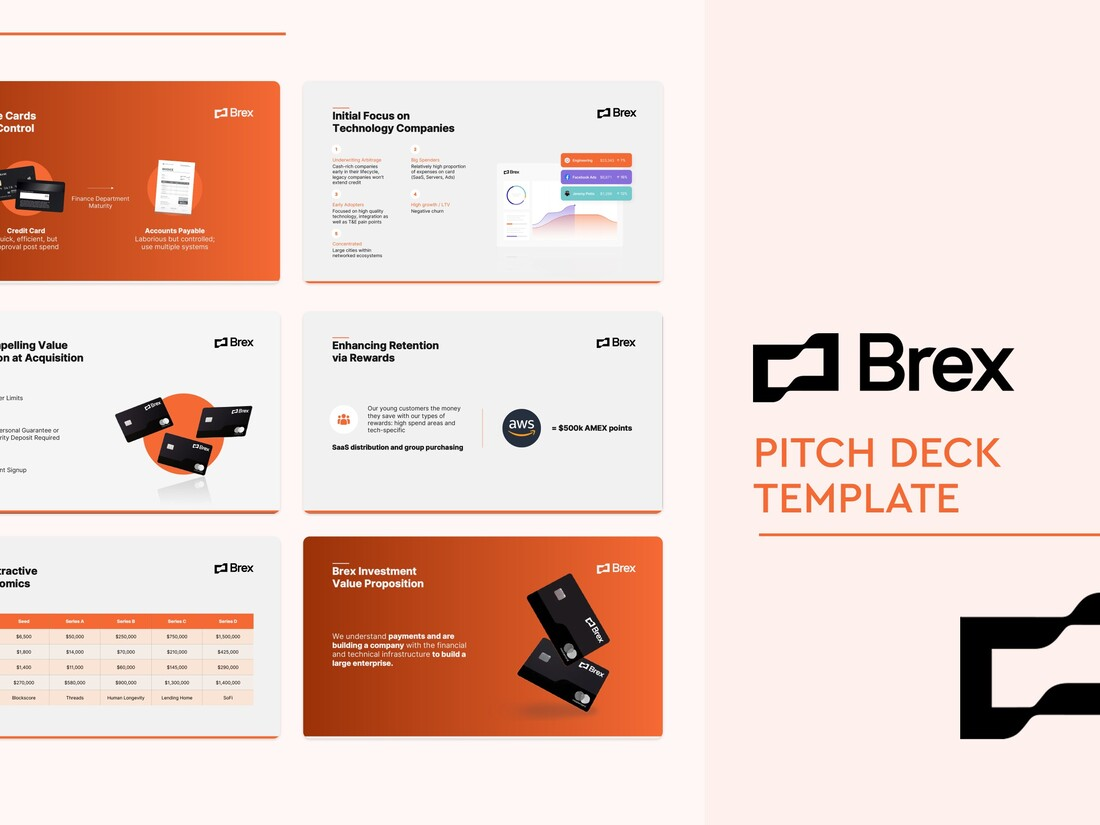 Image contains brex pitch deck template