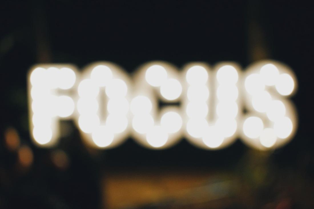 Image reads focus