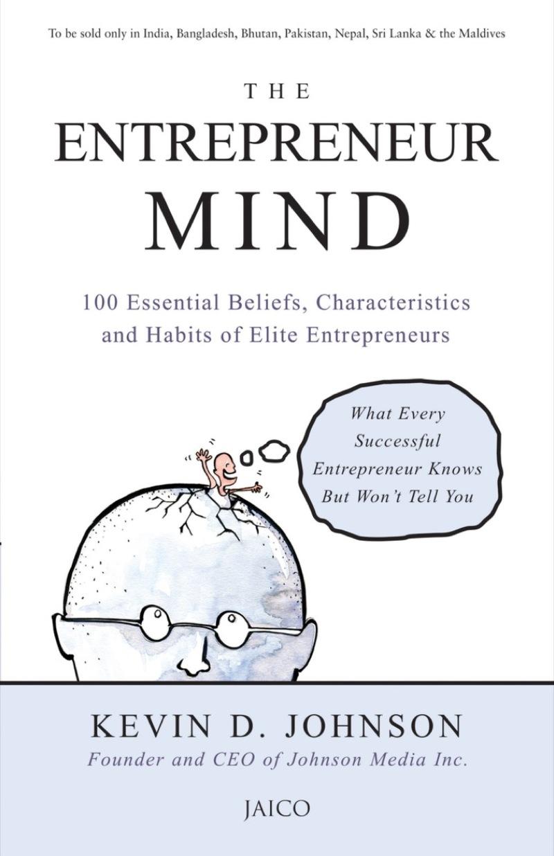 Image contains the entrepreneur mind book