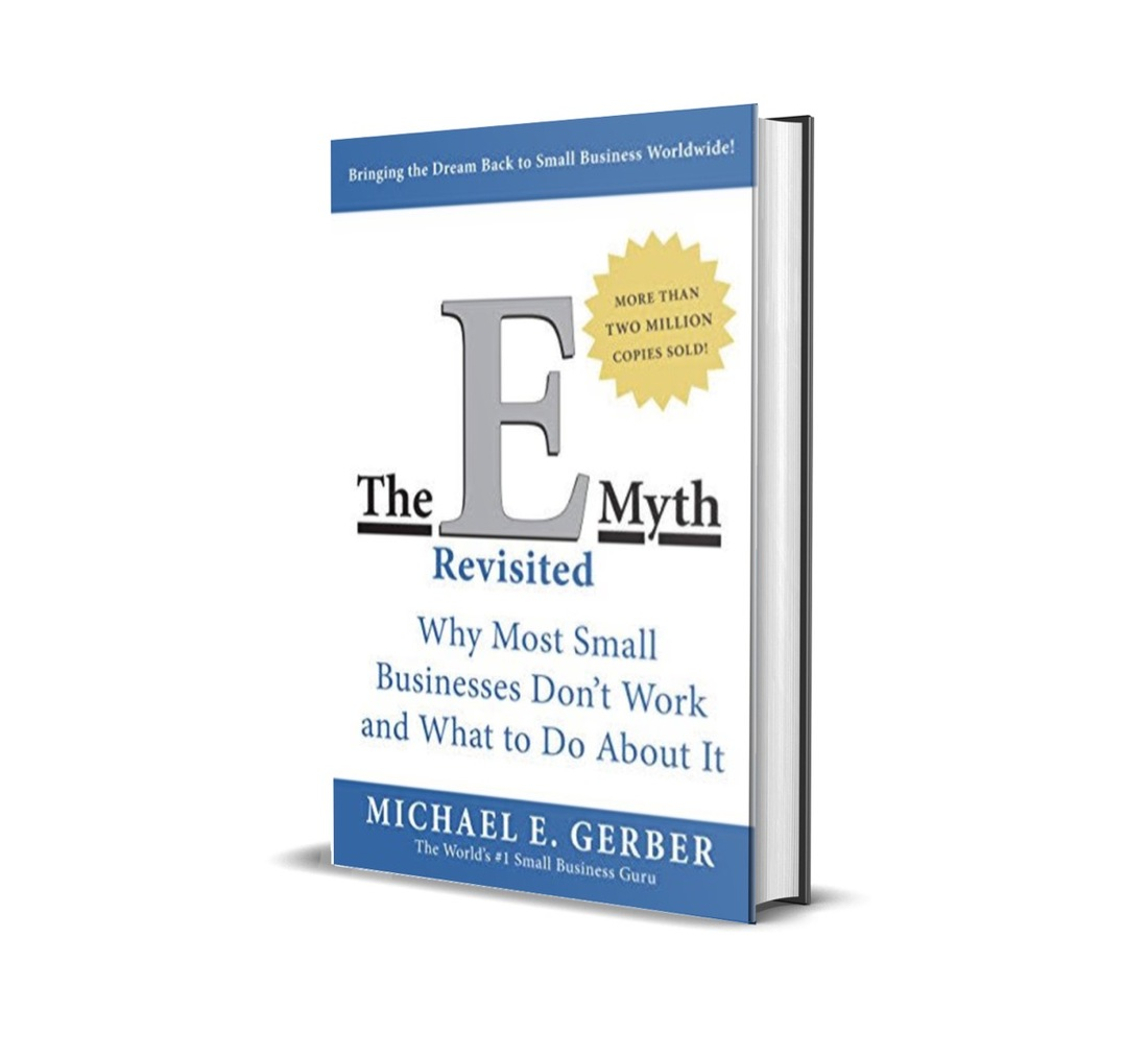 Image contains the E-myth revisited book