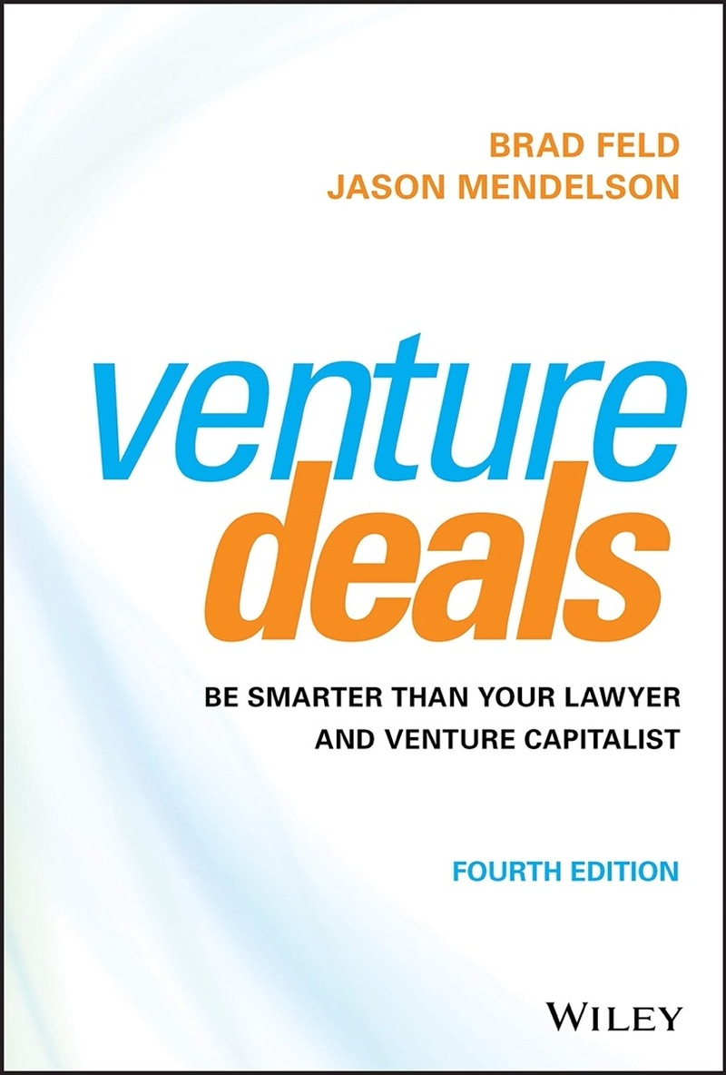 Image contains the venture deals book