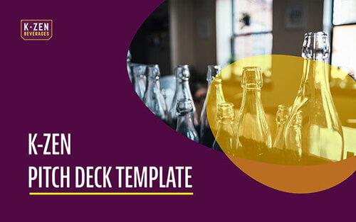 K-Zen Pitch Deck Template