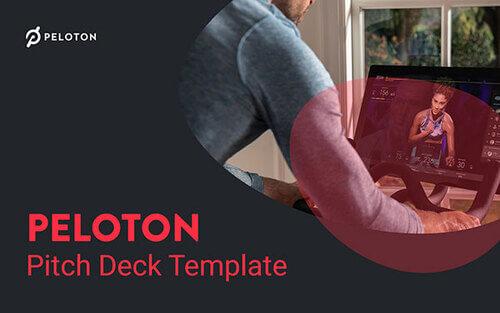 Peloton Pitch Deck Template
