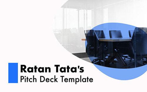 Ratan Tata Pitch Deck Template