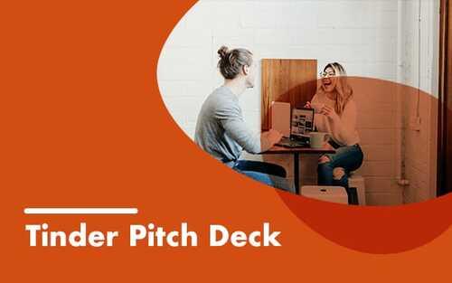 Tinder pitch deck template