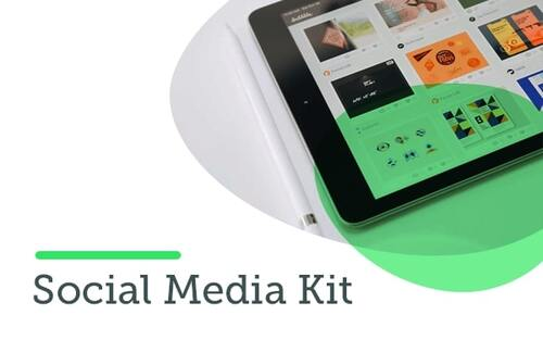 Social Media kit template