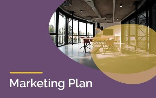 Marketing Plan Template Slide