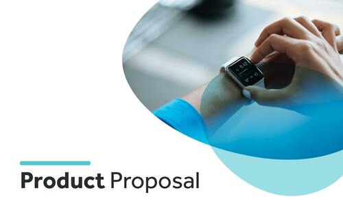 Product proposal template