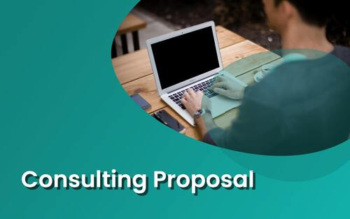 Consulting proposal template example