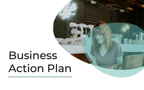 Business action plat template
