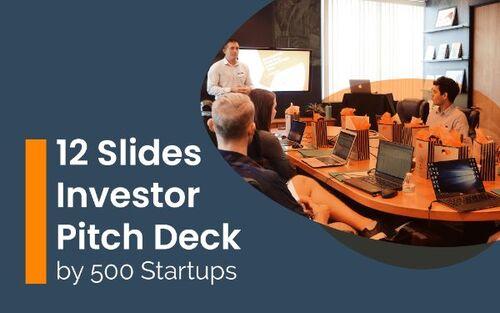investor deck presentation template