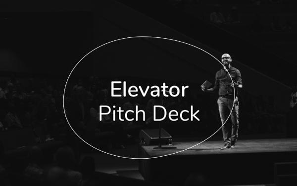 Elevator Pitch Deck Template