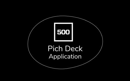 500 Startups Pitch Deck Application Template