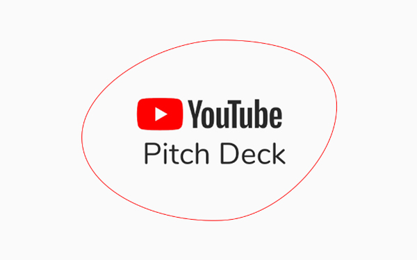 Youtube Pitch Deck Template