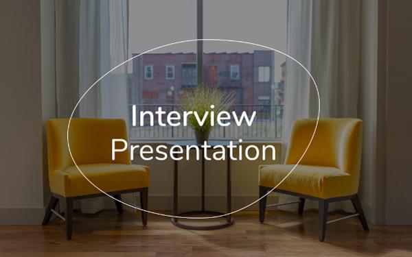 Interview Presentation Template