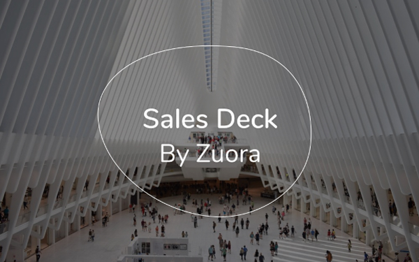 Sales Deck Template