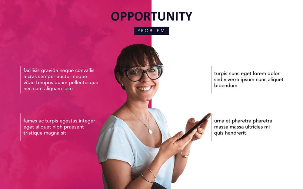 Powerpoint presentation design by Slidebean team