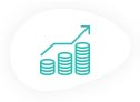 Financial model template icon