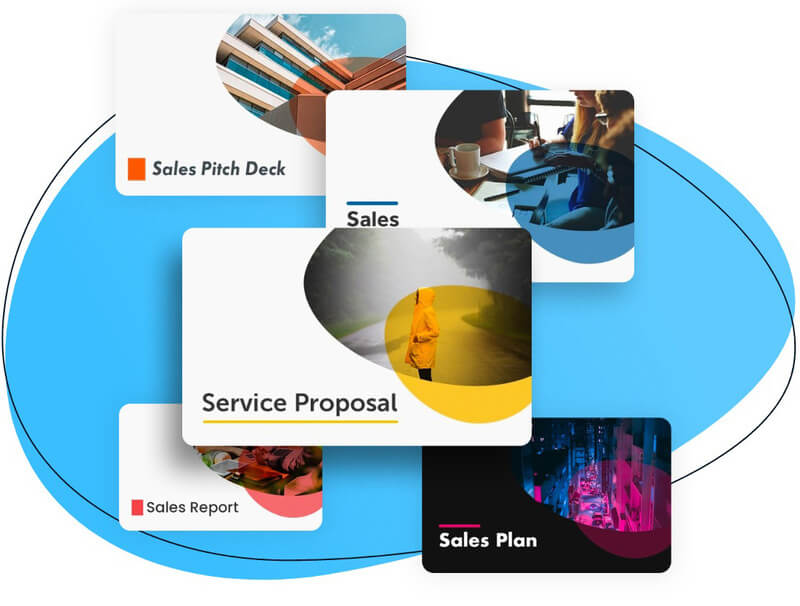 business presentation template for sales
