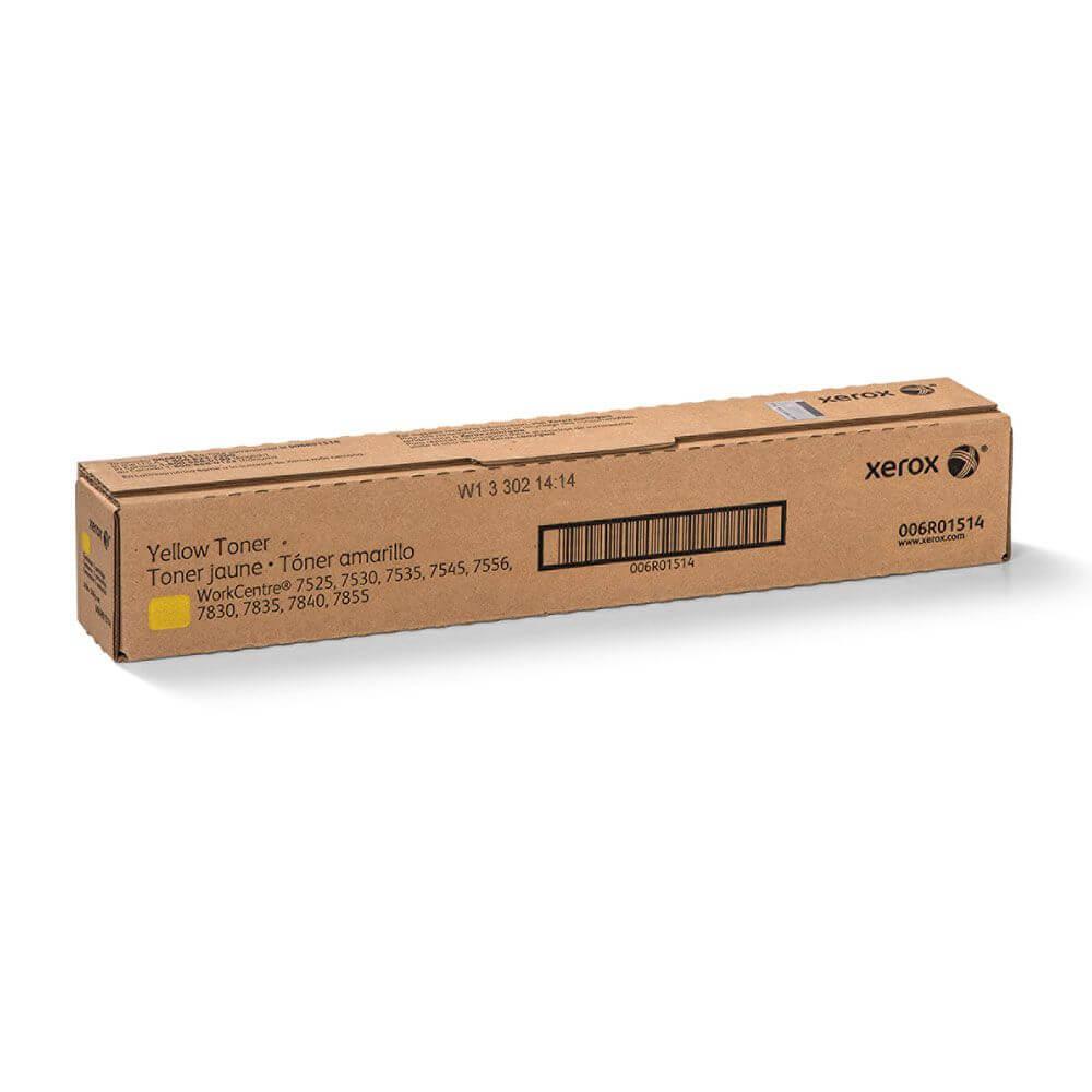 Yellow Toner Cartridge - WorkCentre 7500, 7800, 7800i Series, 7970/7970i, EC7836/EC7856