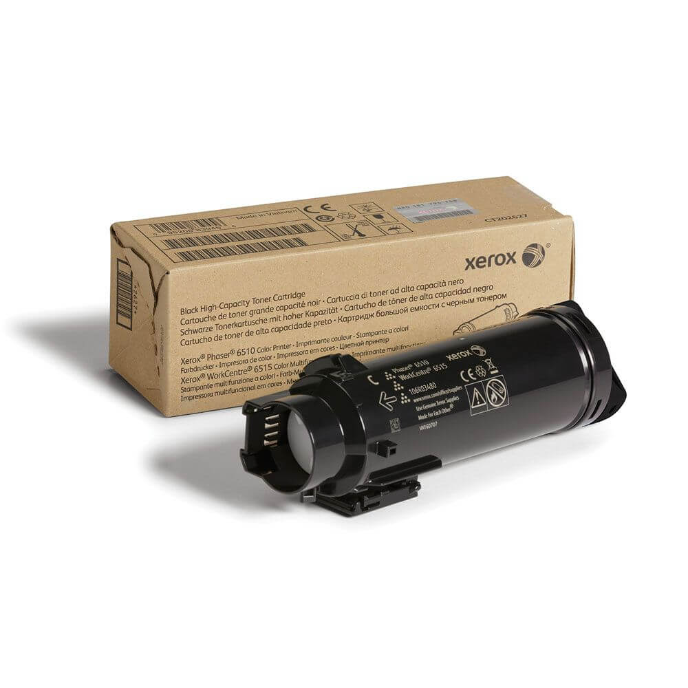 Phaser 6510/WorkCentre 6515 Black High Capacity Toner Cartridge