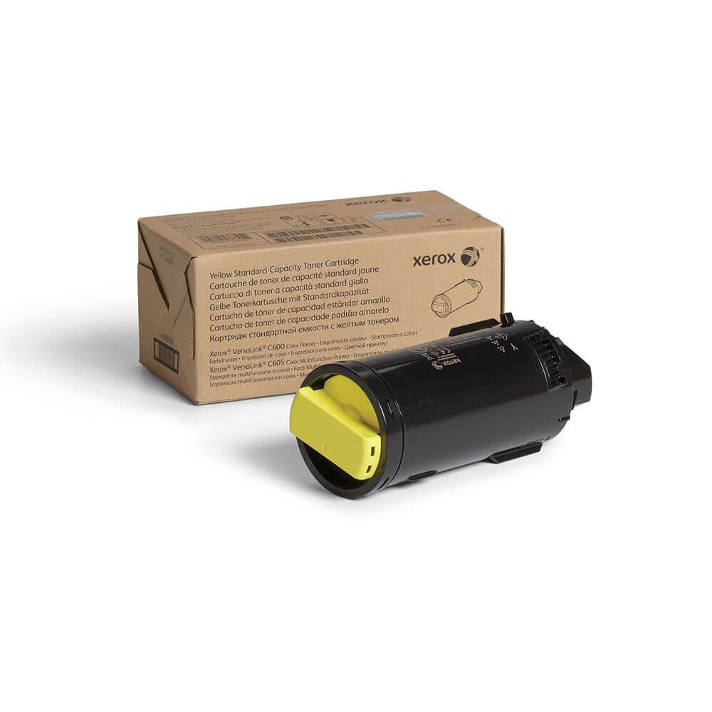 VersaLink C600/C605 Yellow Standard Capacity Toner Cartridge