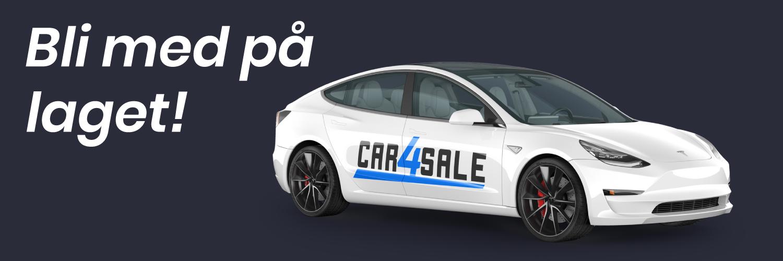 Bli med og jobb hos Car4Sale