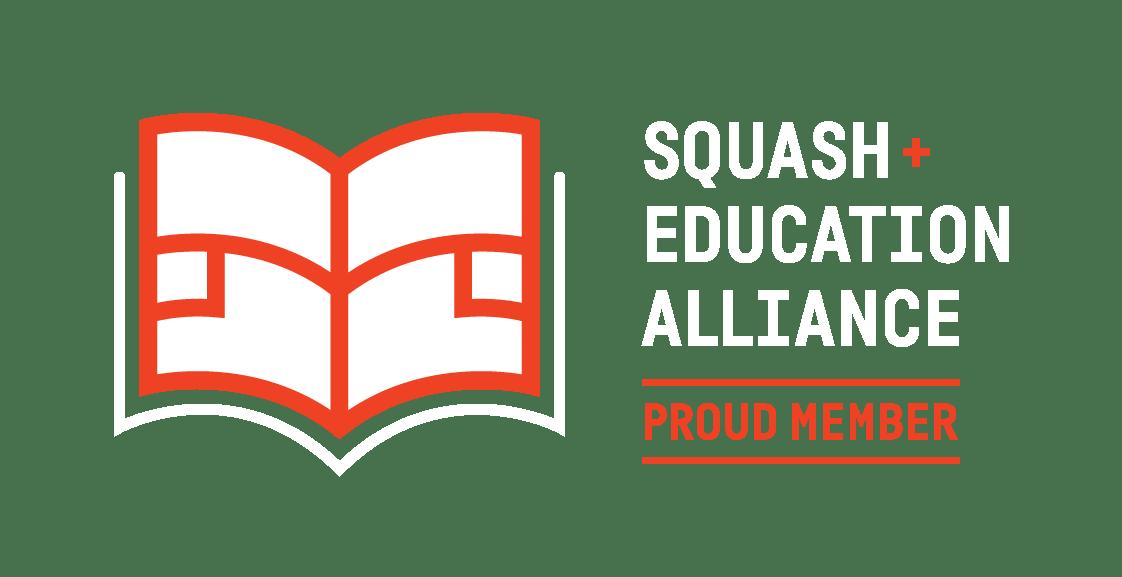Squash + Education Alliance Logo