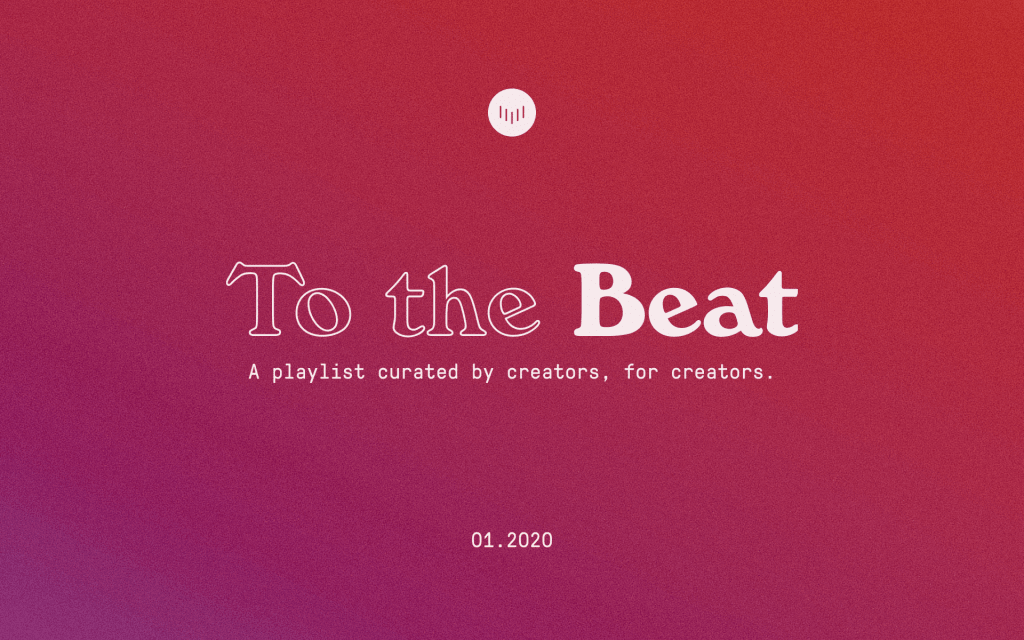 To the Beat: January 2020