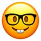 Emoji - Nerd Face