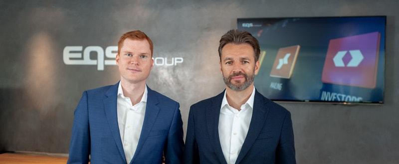 Moritz Hohmann, Achim Weick EQSGroup AG