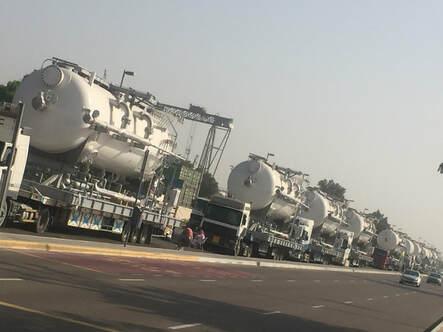 Equipment on trucks