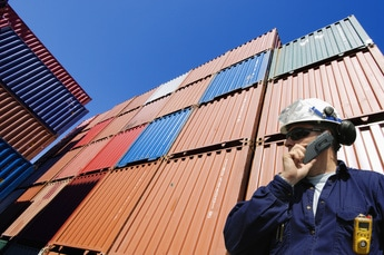 Worker and containers