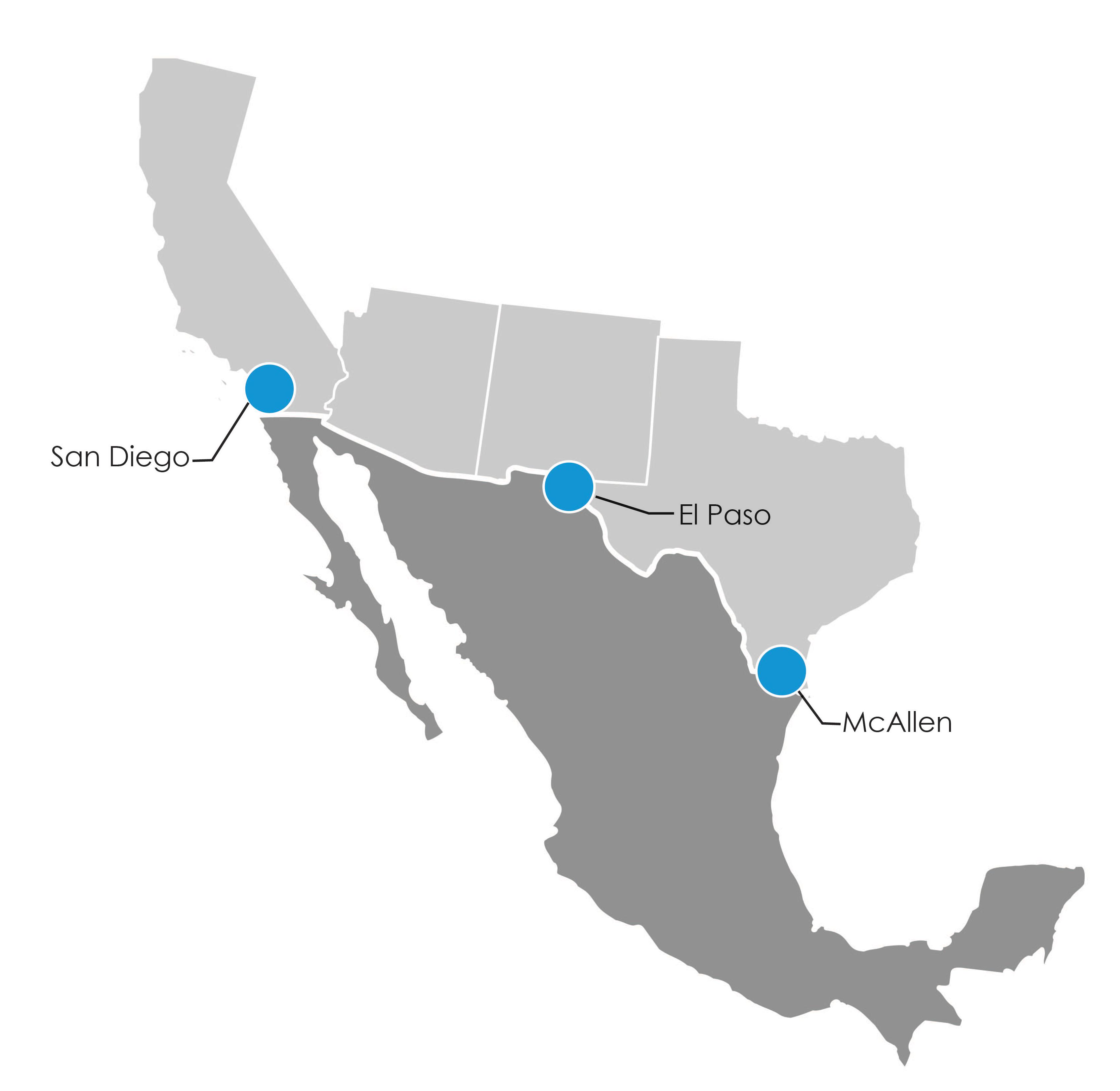JAS Border Link Map