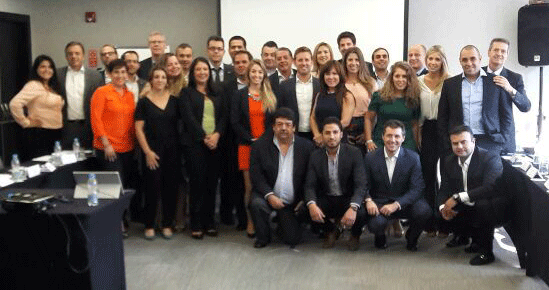 JAS Latin America Sales Meeting Group