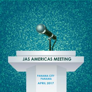JAS Americas Meeting Podium