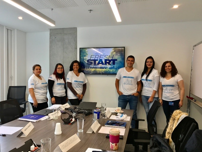 JAS Colombia Strategic Planning Group photo