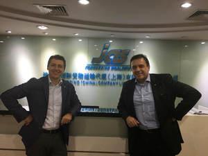 Manuele Mazzacurati and Elder Apolinario visit Shanghai, China