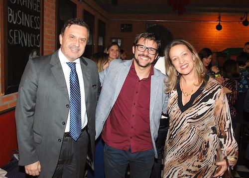 Elder Apolinario da Jas, Ronan Matos da Cummins Brasil e Simone Pappalardo da Jas