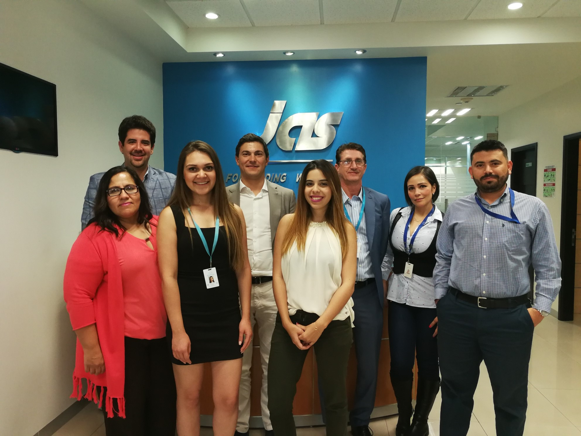 February 2018: Andrea Azzimonti, Sales Director - JAS China and Hong Kong visits with JAS Mexico Sales and Management teams.